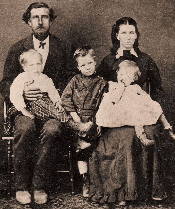 Molly & Henry McCormick, Chalmers, Hugh, and John